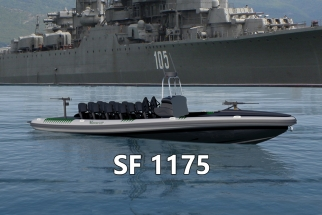 Military Rigid Inflatable Boat